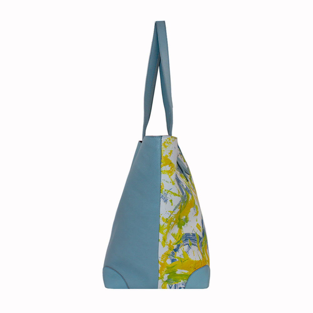 "Handbag Womens Tote ""Birds of Peace"" by Jumper Maybach®"