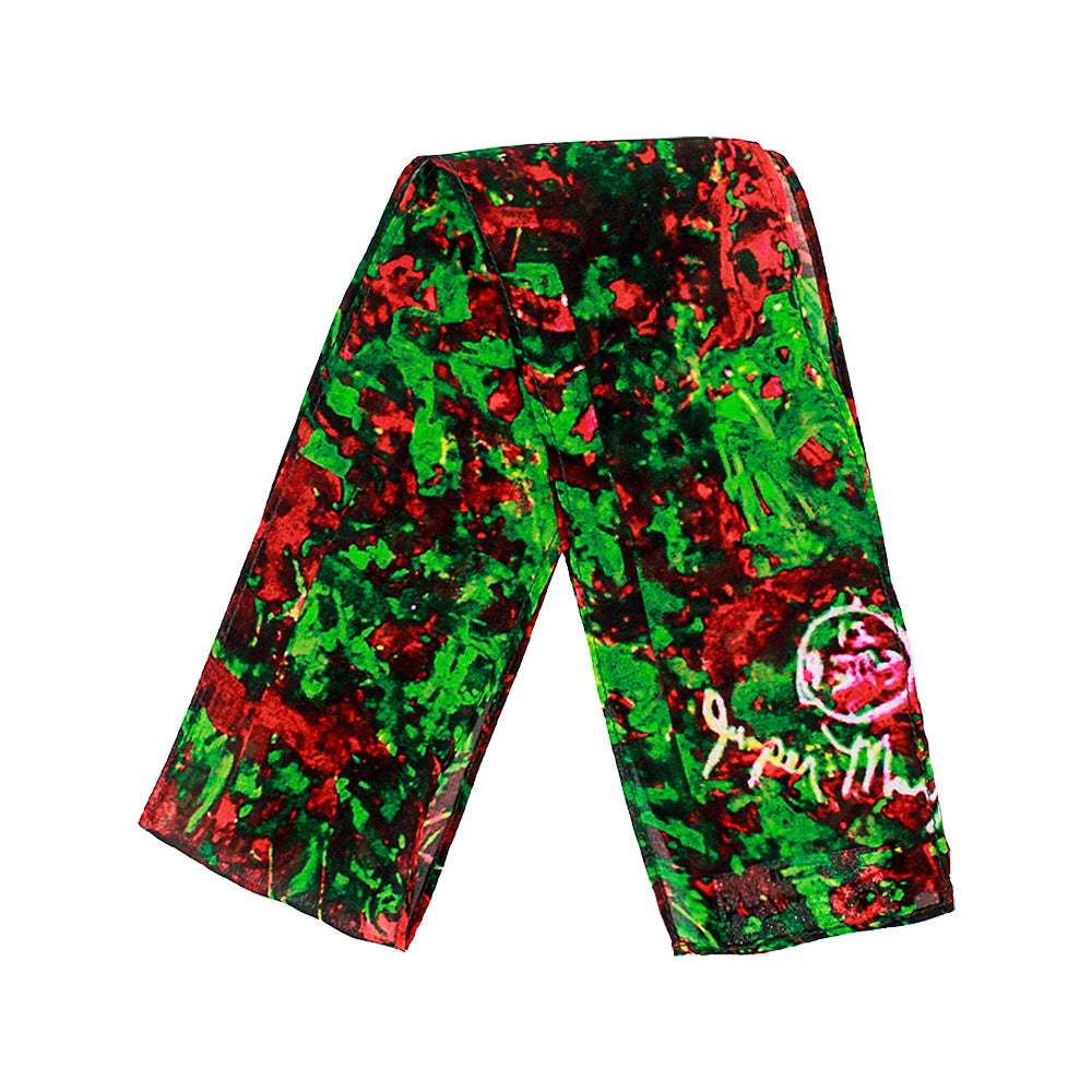 Cherry Raspberry Fields BonBon Scarf by Jumper Maybach®