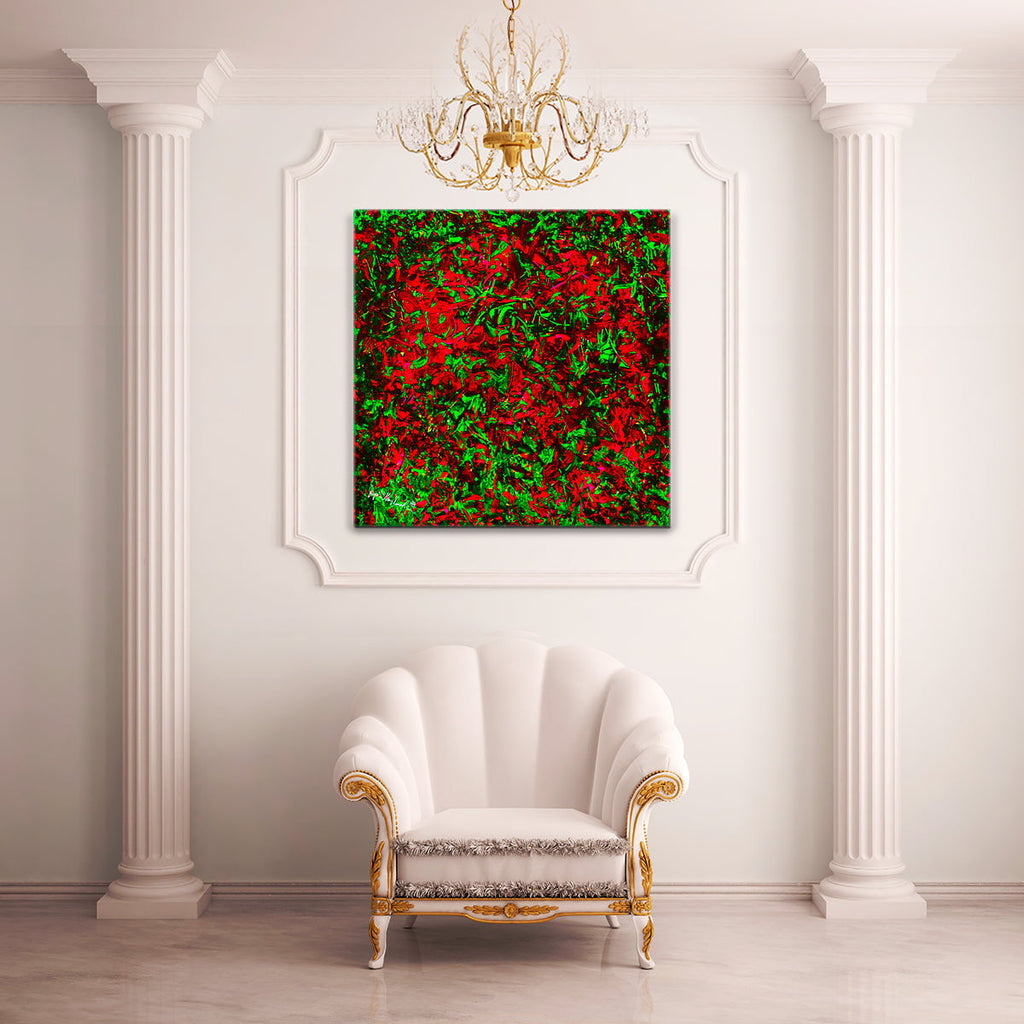 Cherry Raspberry Fields (Giclée Hand Signed by the Artist) by Jumper Maybach® GIC