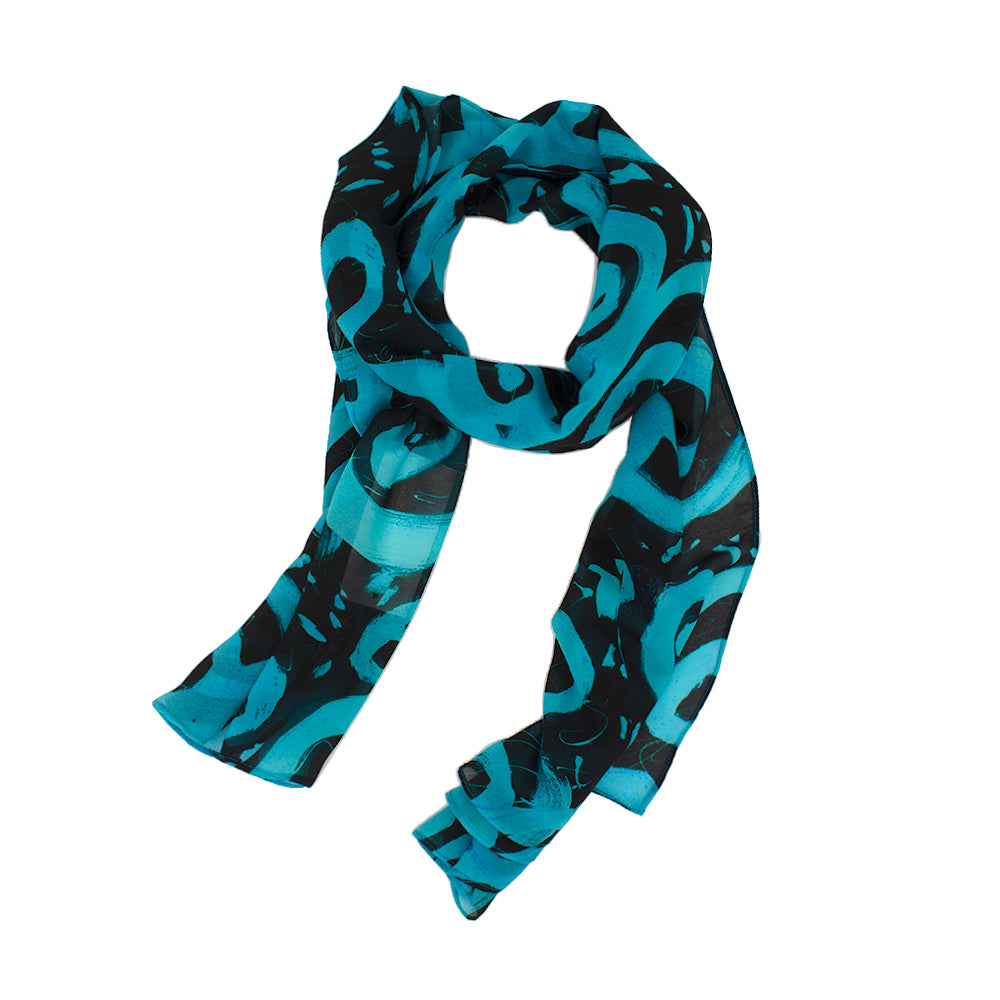 Circle of Night Scarf by Jumper Maybach®