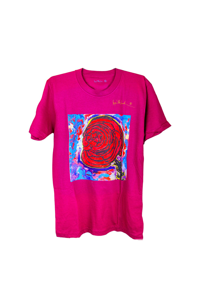 Cotton Candy Rose Shirt by Jumper Maybach®