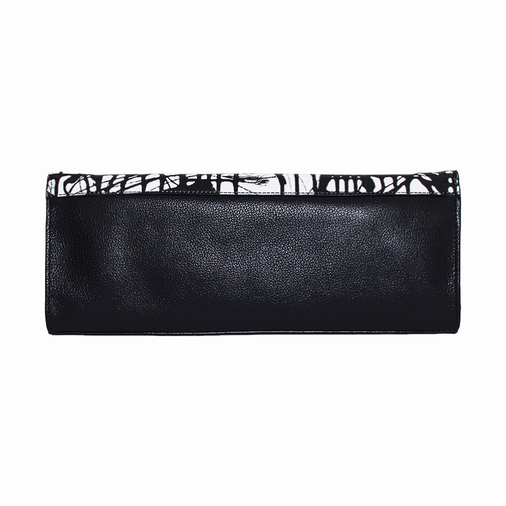 "Handbag Womens Clutch ""Dark Matrix"" by Jumper Maybach®"