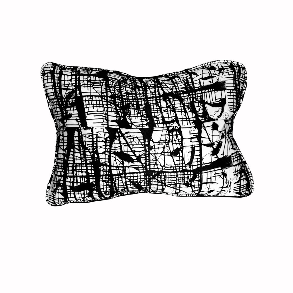 Dark Matrix Pillow by Jumper Maybach®