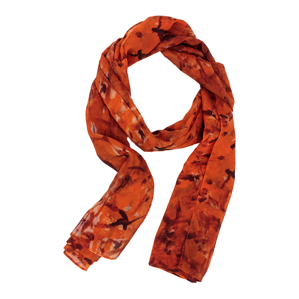 Orange Sunset Scarf by Jumper Maybach®