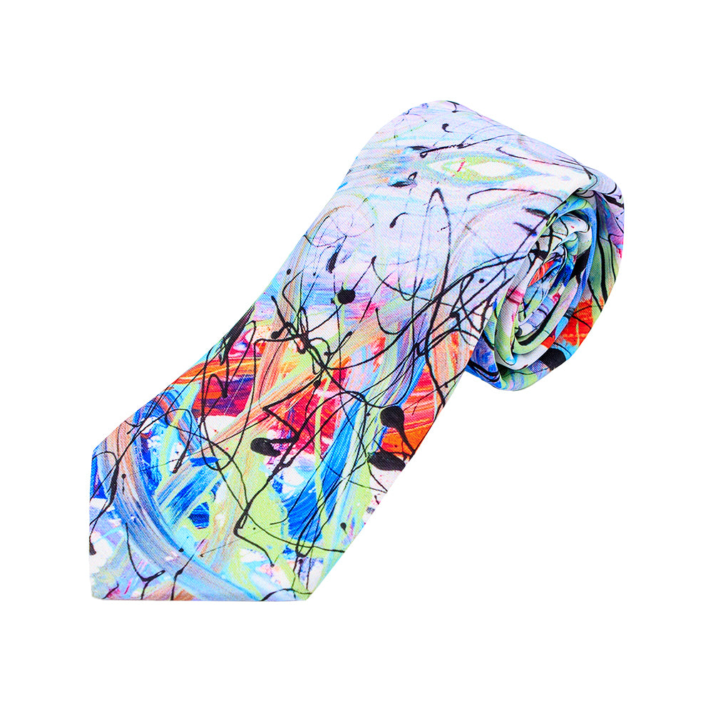 Rainbow Rhapsody Tie by Jumper Maybach®