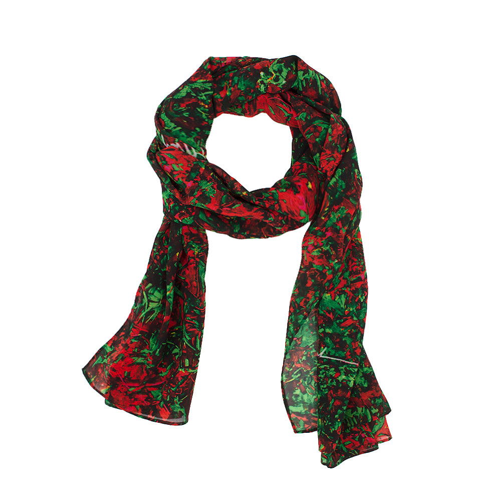 Cherry Raspberry Fields Scarf by Jumper Maybach®
