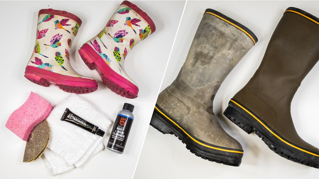 How to Repair Cracks and Leaks in Rubber Boots