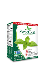 SWEETLEAF NATURAL STEVIA SWEETENER, 70 packets