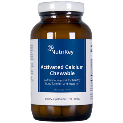 Activated Calcium CHEWABLE, Chocolate, 90 tabs
