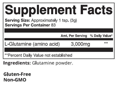 L-Glutamine POWDER, 250gm