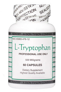 L-Tryptophan 500 mg, 60 caps