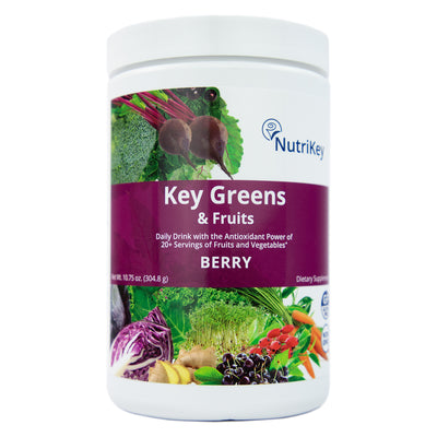Key Greens & Fruits Canister, Berry