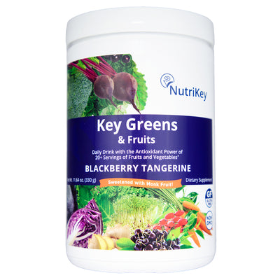Key Greens & Fruits Canister, Blackberry Tangerine (w/ Monk Fruit)