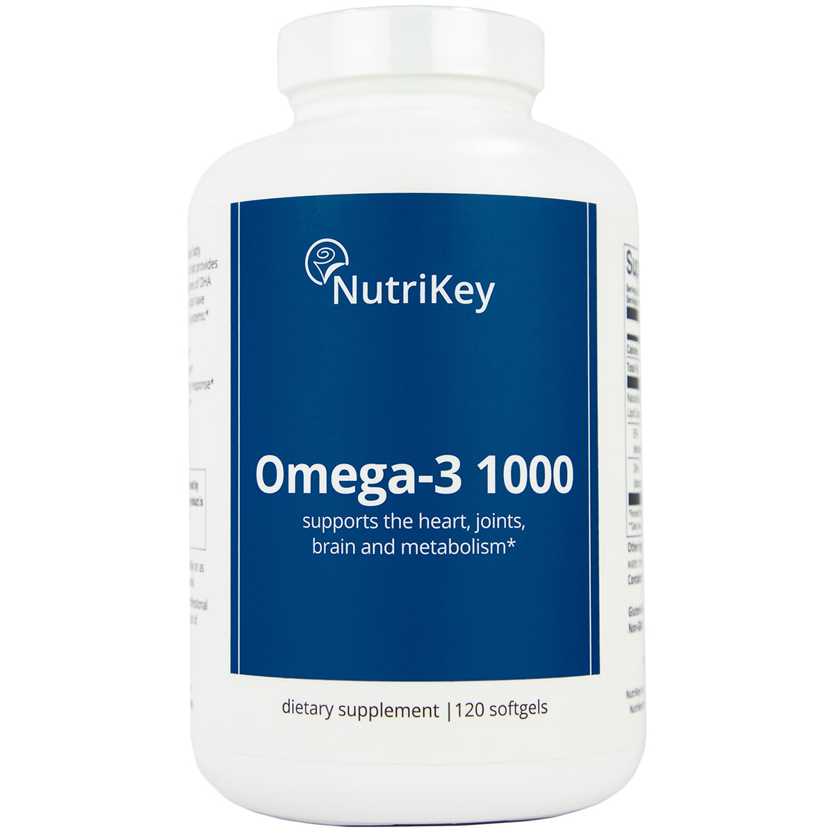 OMEGA-3 1000, 120 softgels