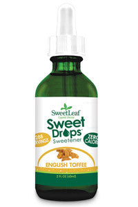 SWEET DROPS, ENGLISH TOFFEE, 2 oz