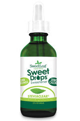 SWEET DROPS, STEVIACLEAR, 2 oz