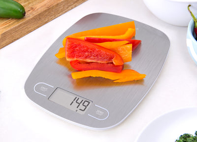 Greater Goods Digital Food Kitchen Scale, Stainless Steel