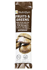 NutriDyn Fruits & Green TO-GO, Espresso