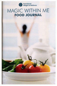 MAGIC WITHIN ME FOOD JOURNAL, Paperback