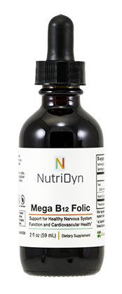 Mega B12 Folic, 2 oz