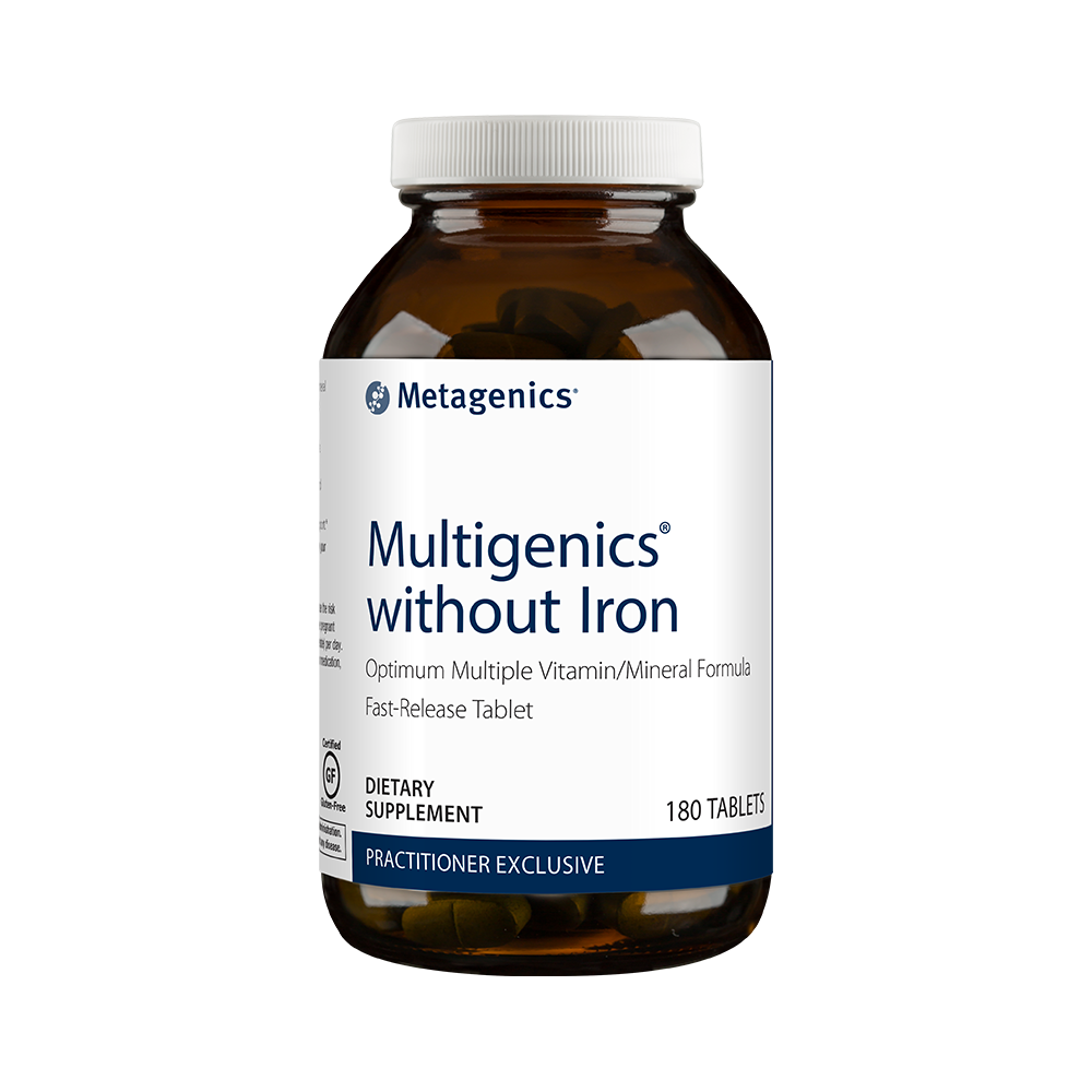 Multigenics without Iron, 180 tabs