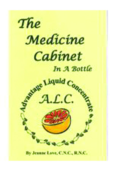 The Medicine Cabinet in a Bottle, Paperback