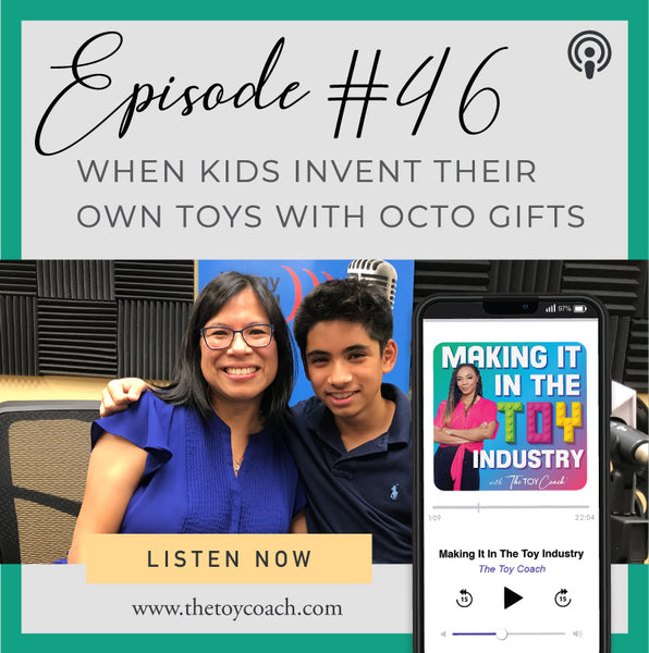 OctoGifts on the Toy Coach's Podcast