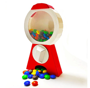 Gumball Machine Card, DIY Kit