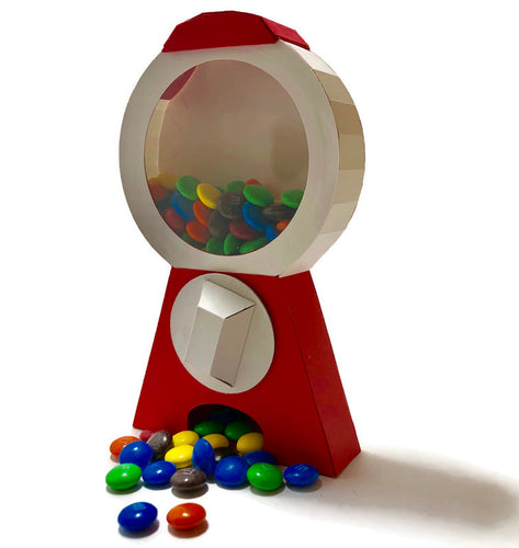 Gumball Machine Card, Fully Assembled