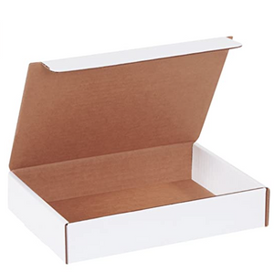 "Corrugated gift shipping box, 9"" x 6.5"" x 2.75"" (if you're mailing your valentine!)"