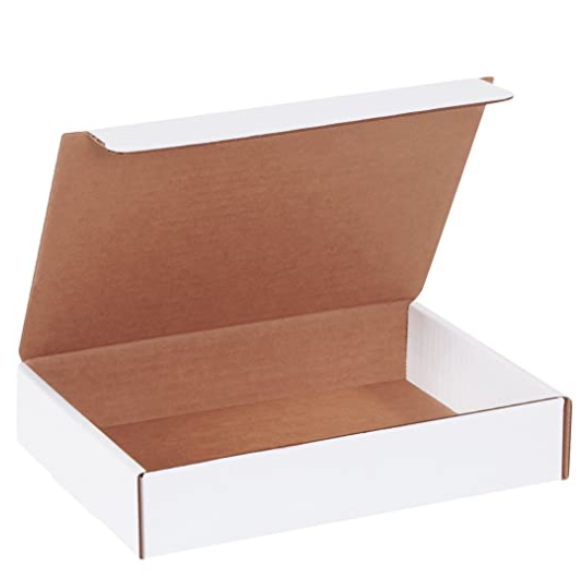Corrugated gift shipping box, 9