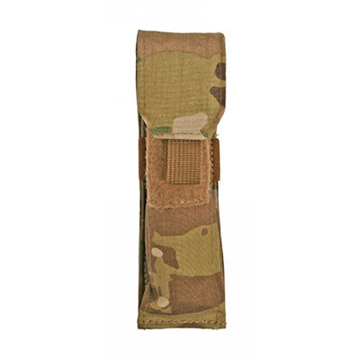 Flashlight Pouch Front - Coyote Brown