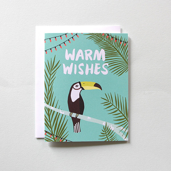 Tropical Toucan Holiday Card