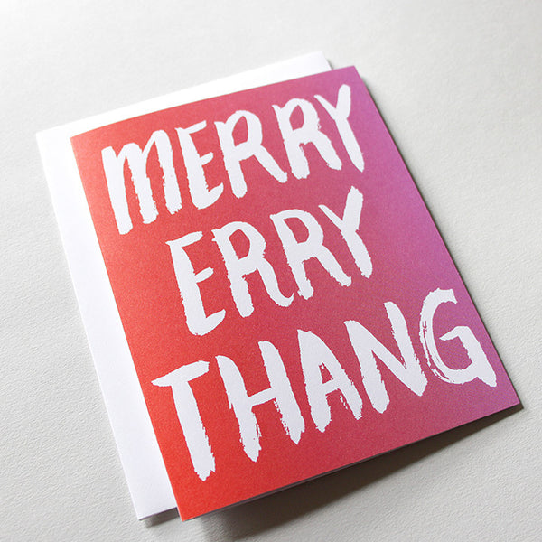 Merry Errythang Holiday Card