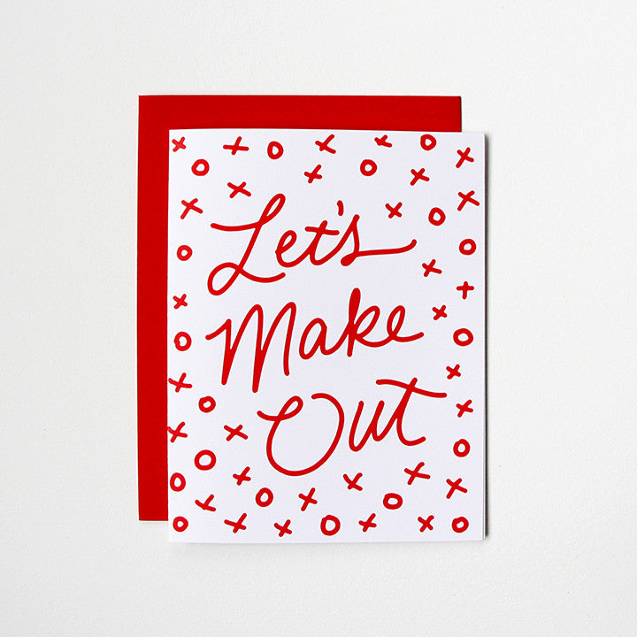 Let's Make Out Card