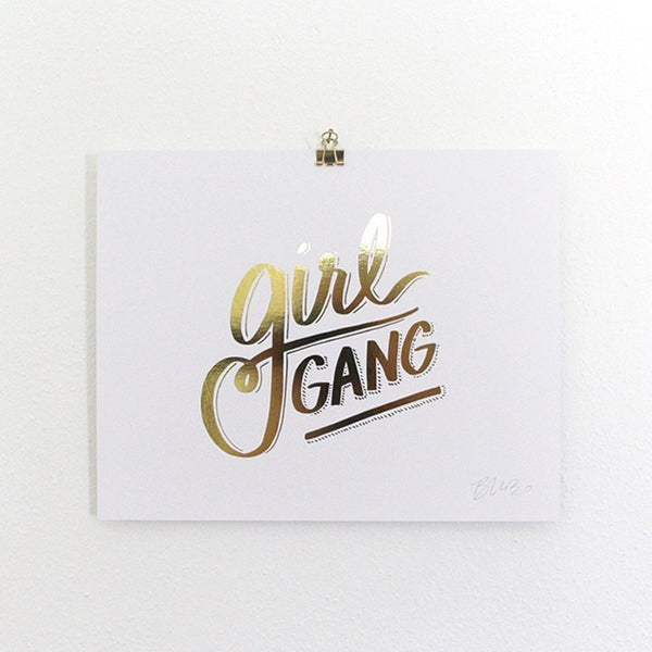 Art Prints - Art Prints - Girl Gang Art Print