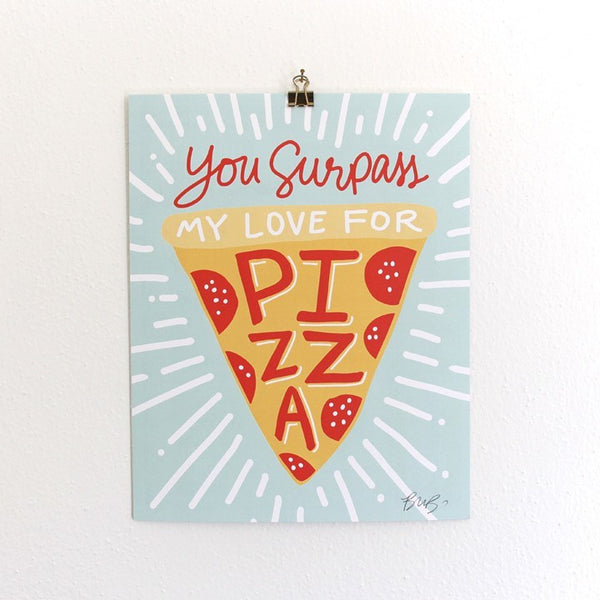Art Prints - Art Prints - Pizza My Heart Art Print