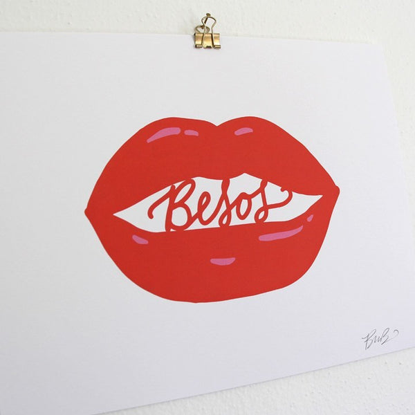 Art Prints - Art Prints - Read My Lips Art Print