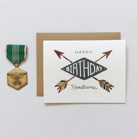 Cards & Tags - Birthday - Handsome Arrows Birthday Card