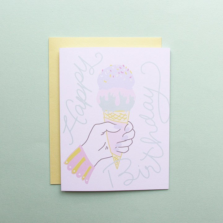 Cards & Tags - Birthday - Ice Cream Dreams Birthday Card