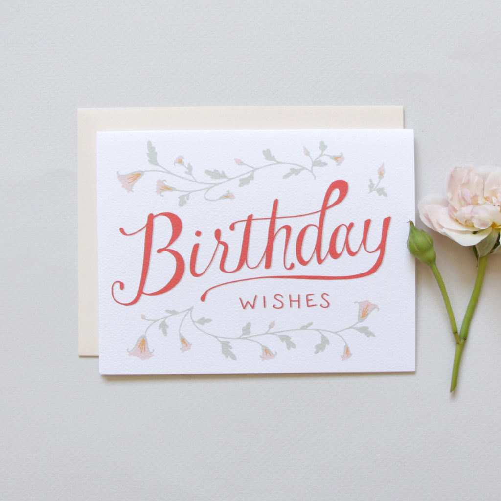 Cards & Tags - Birthday - Morning Glory Birthday Card