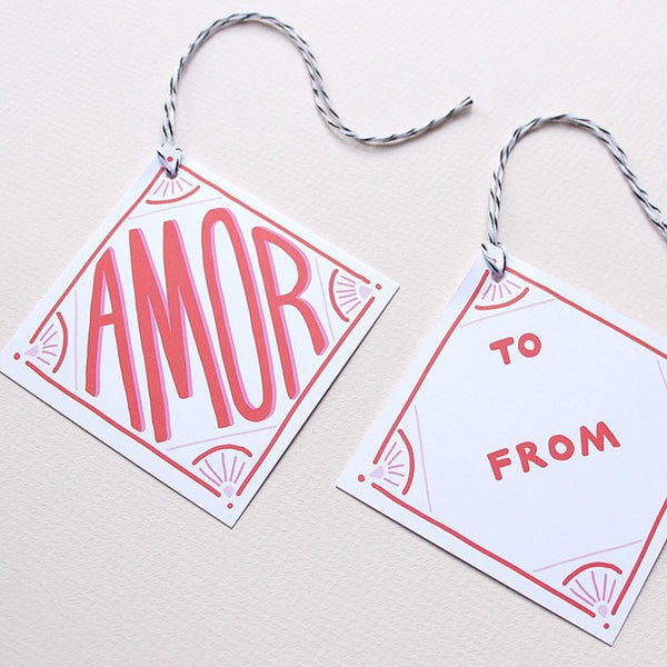 Cards & Tags - Gift Tags - Amor Diamond Gift Tags