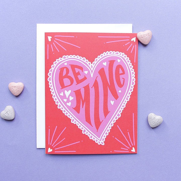 Cards & Tags - Love & Friendship - Groovy Love Card
