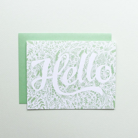 SALE! Hello Spring Garden Card