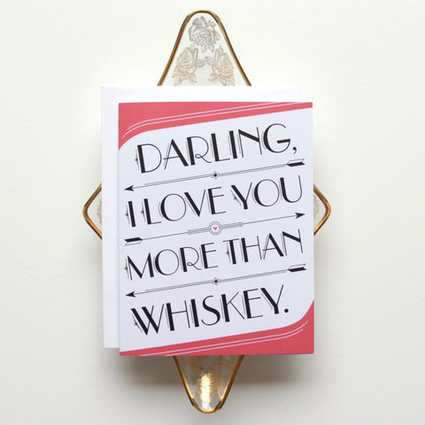 Cards & Tags - Love & Friendship - I Love You > Whiskey Card