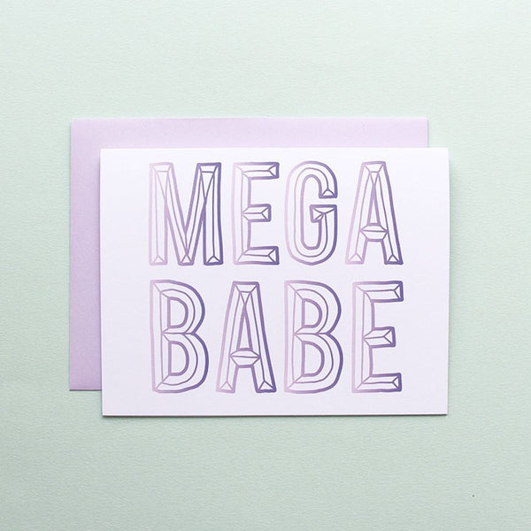 Cards & Tags - Love & Friendship - Mega Babe Card