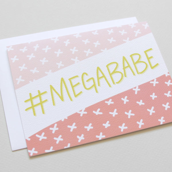 Cards & Tags - Love & Friendship - #megababe Card
