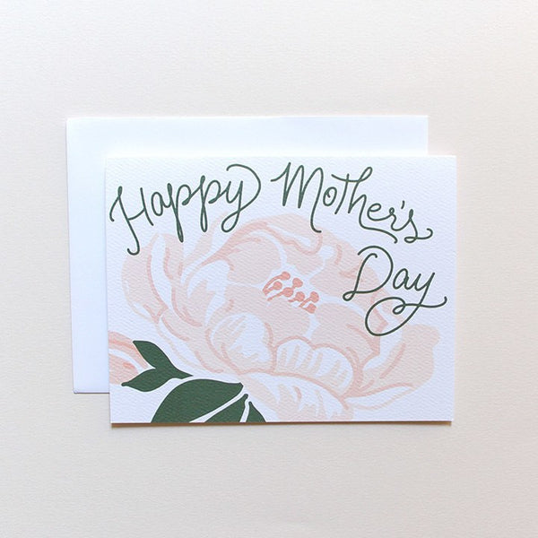 Cards & Tags - Love & Friendship - Mother's Day Peony Card