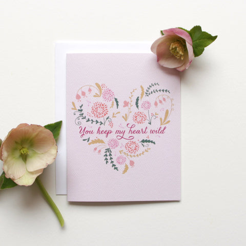 SALE! Wild At Heart Card