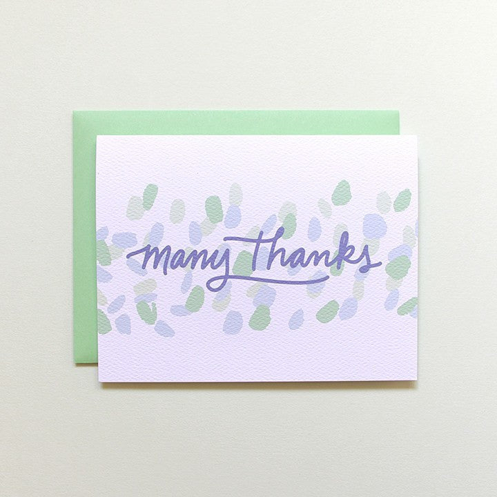 Cards & Tags - Thank You - Dancing Light Thank You Card